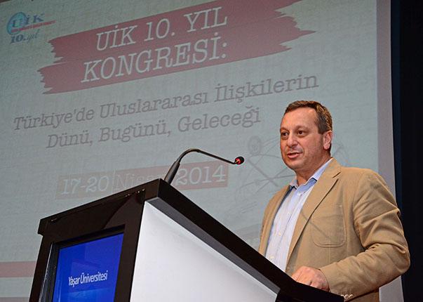 Prof. Dr. Mustafa Aydın-UİK  Yönetim Kurulu Başkanı ve Kadir Has Üniversitesi Rektörü