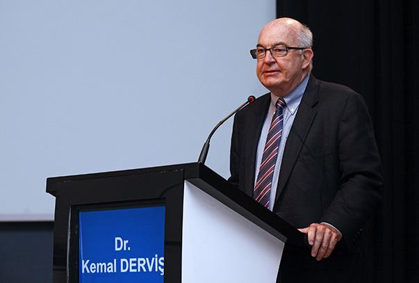 Kemal Derviş- Ekonomiden Sorumlu Devlet Eski Bakanı ve Birleşmiş Milletler Kalkınma Programı (UNDP) Başkanı (2005-2009)