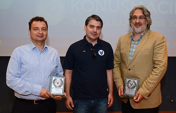 Gelişim Koleji Genel Menajeri NamIk Yazlar,  Yaşar Üniversitesi Sağlık Kültür Spor Müdürü Taylan Dündar, Beşiktaş Basketbol Direktörü Yiğiter Uluğ