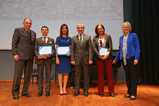 Prof. Dr. Murat Barkan, Dr. Fırat Yaldız, Gözde Demir, Ömer Kaplan, Prof. Dr. Aylin Günay, Patricia Türkmenoğlu