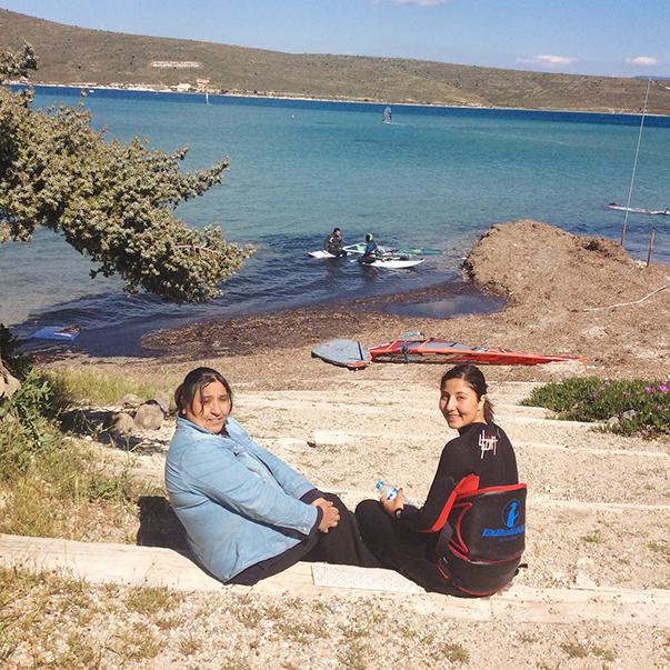 Fulya ve annesi Cemile Ünlü