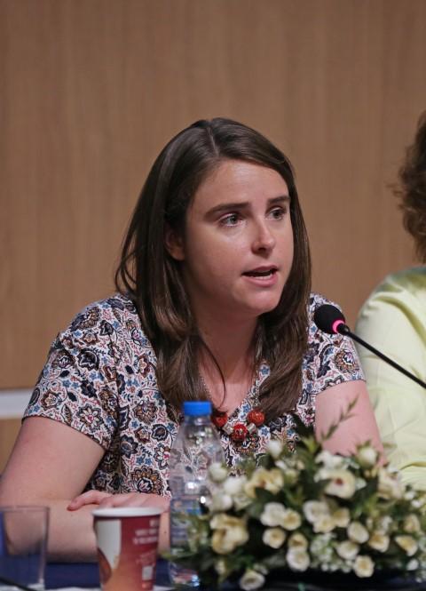 Friends of Turkey (Türkiye'nin Dostları) Grubu Genel Sekreteri Laura Batalla Adam