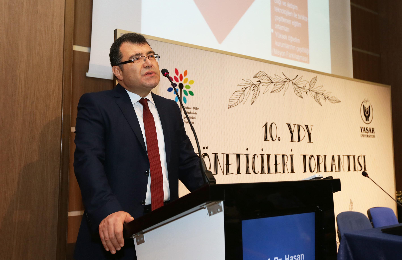 Prof. Dr. Hasan Mandal-Yükseköğretim Kurulu Başkan Vekili