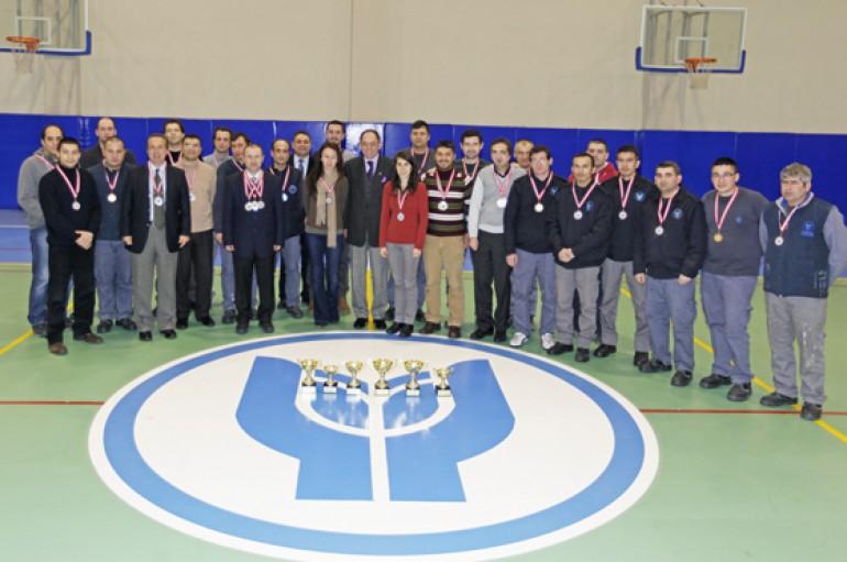 Yaşar'da Personel Turnuvası