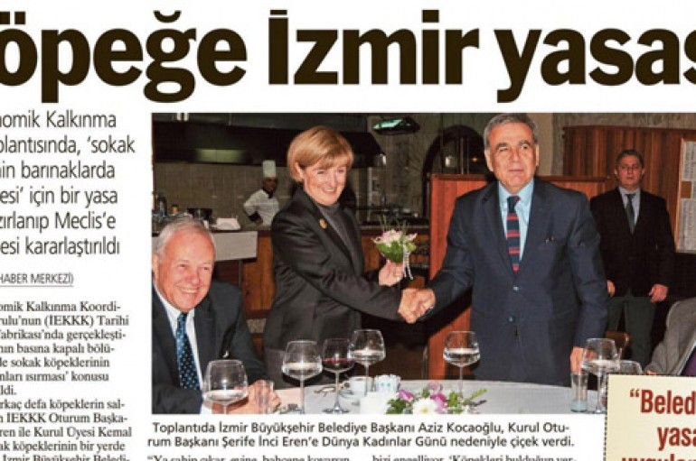 Yeni Asır – Sokak köpeklerine İzmir yasası
