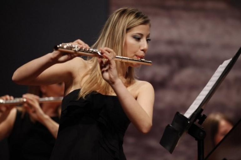 İzmir'de uluslararası flüt yarışması
