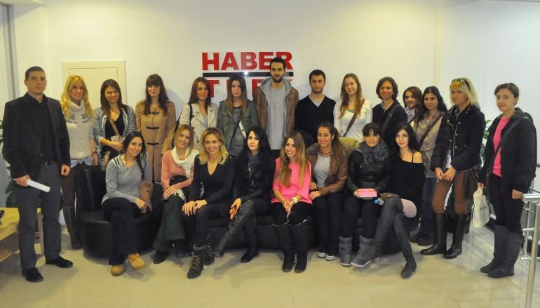 Yaşarlı öğrenciler Habertürk'e konuk oldu