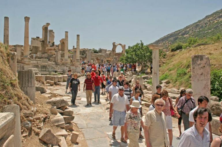 İzmir'e gelen turist hem zengin, hem çevreci