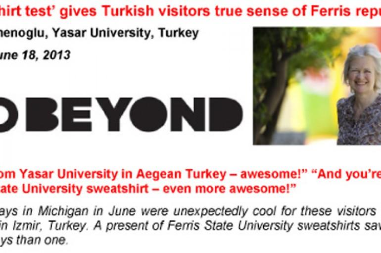 Pioneer Gazetesi'nde Yaşar Üniversitesi