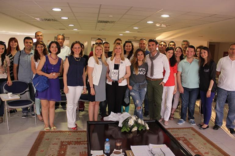 EGİKAD Yaşar'da öğrencilerle buluştu