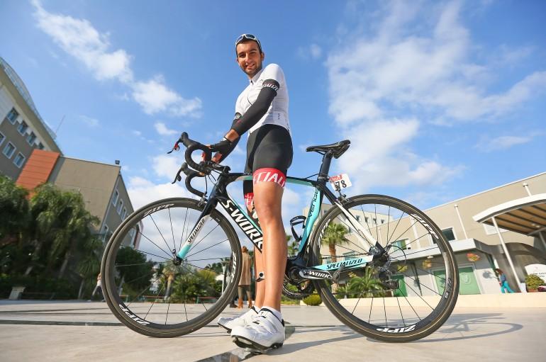Ünlü yarışçının bisikleti  Yaşarlı Kaan'ın oldu