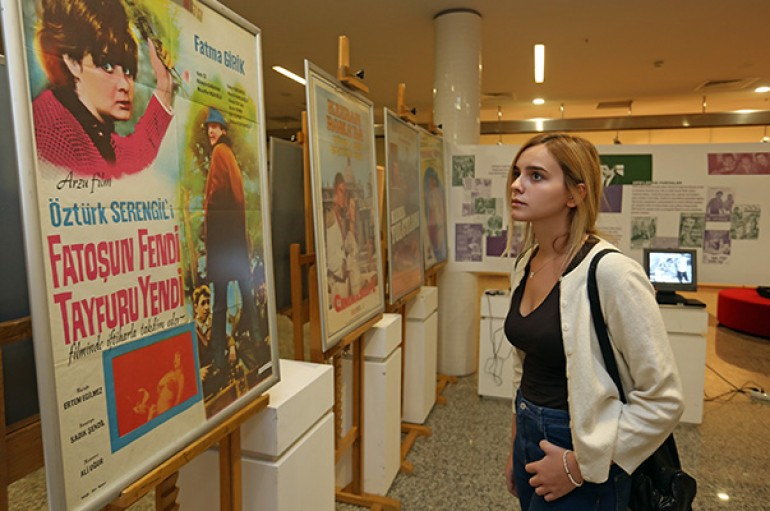 Türk Sineması'nın 100'üncü yılına özel nostaljik sergi