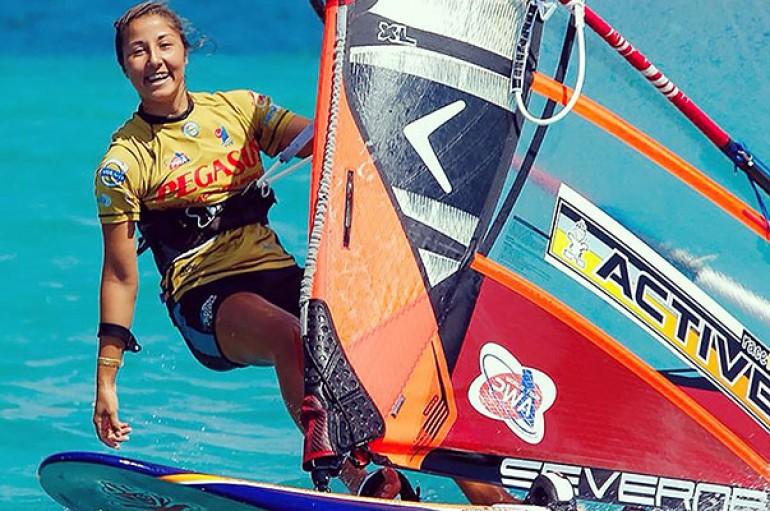 Rüzgarın kızı dünya şampiyonu