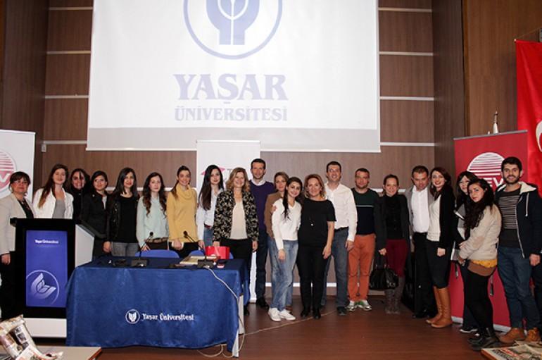 TEV bursiyerlerine  Yaşar'dan kariyer eğitimi