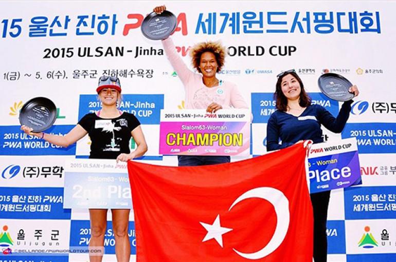 Yaşarlı Fulya'dan Güney Kore'de tarihi başarı