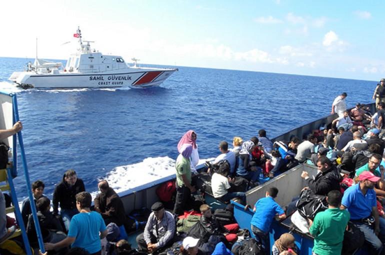 Türkiye'nin derdi kaçak göçmenler