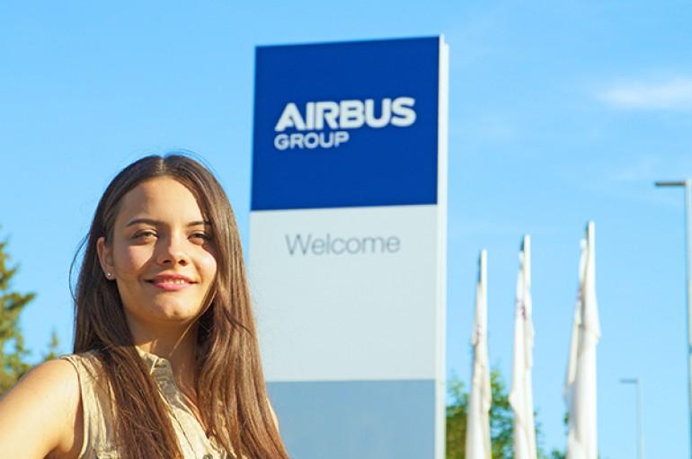 Hayal etti, dünya havacılık devi Airbus'ta işe başladı