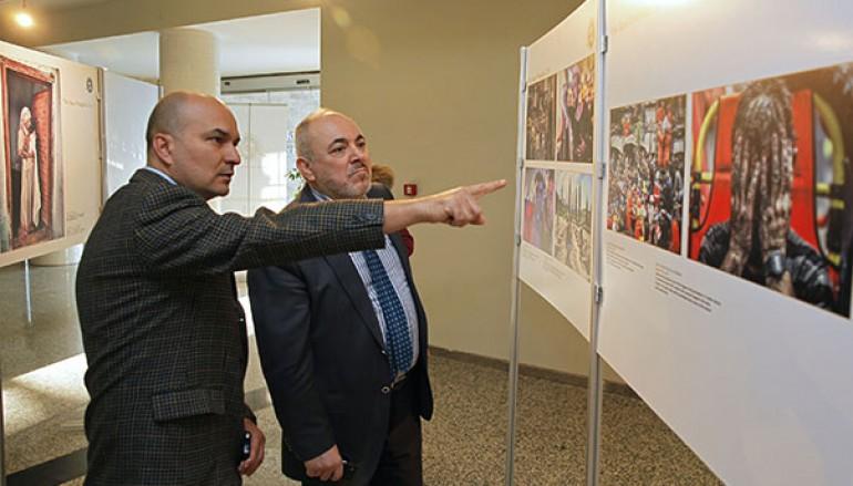 Yılın Basın Fotoğrafları Sergisi Yaşar'da