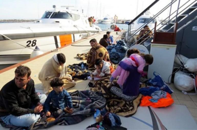 Ege'de Göçmen Dramı