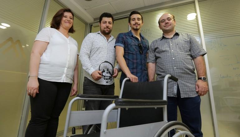 Beyin Dalgalarıyla Kontrol Edilebilen Tekerlekli Sandalye Projesi