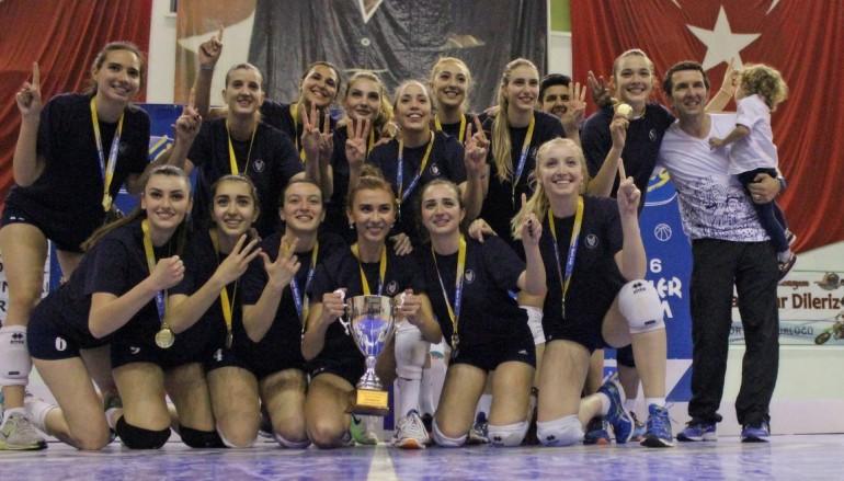 Yaşar'ın Sultanları üst üste 3. kez şampiyon