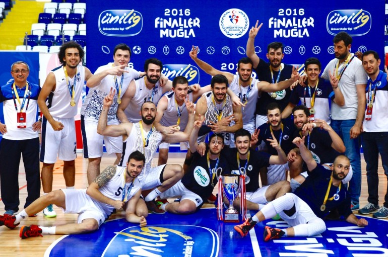Yaşar's basketball team becomes the champion in Turkey