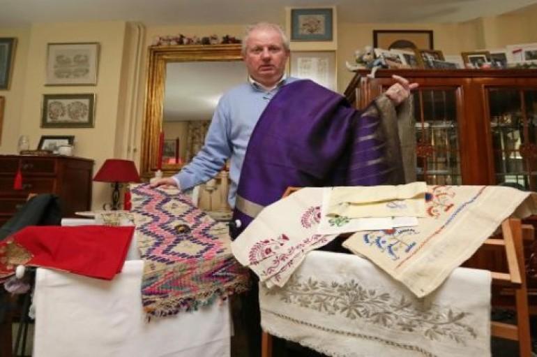 Osmanlı el işlerine tutkun bir İskoç