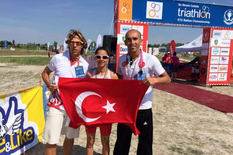 (Turkish) Yaşarlı İpek Balkan Şampiyonu