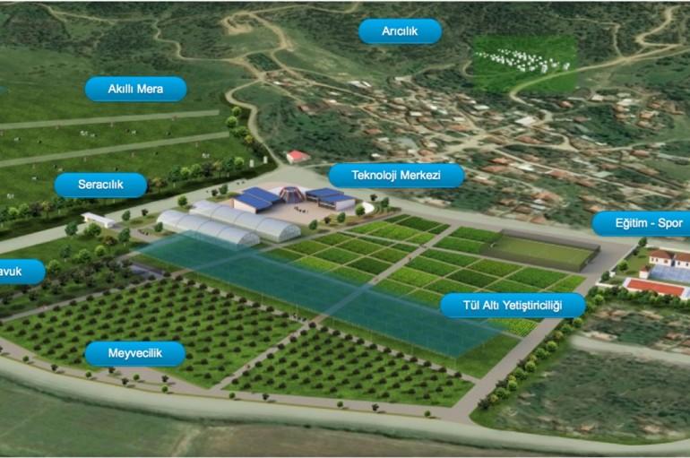 Yaşar'dan teknoloji köyüne tasarım projesi