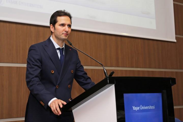 Yaşar Üniversitesi Marina ve Yat İşletmeciliği Program Sorumlusu Öğretim Görevlisi Can Karaosmanoğlu