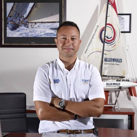 C Çeşme Marina Genel Müdürü Can Akaltan