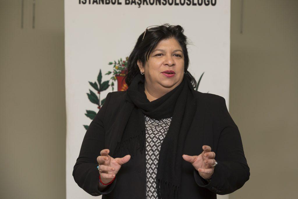 Venezuela Bolivar Cumhuriyeti İstanbul Başkonsolosu Tatiana Locia Zapate Bracho