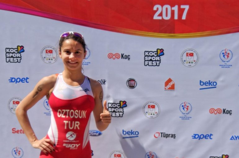 İpek Öztosun the champion again