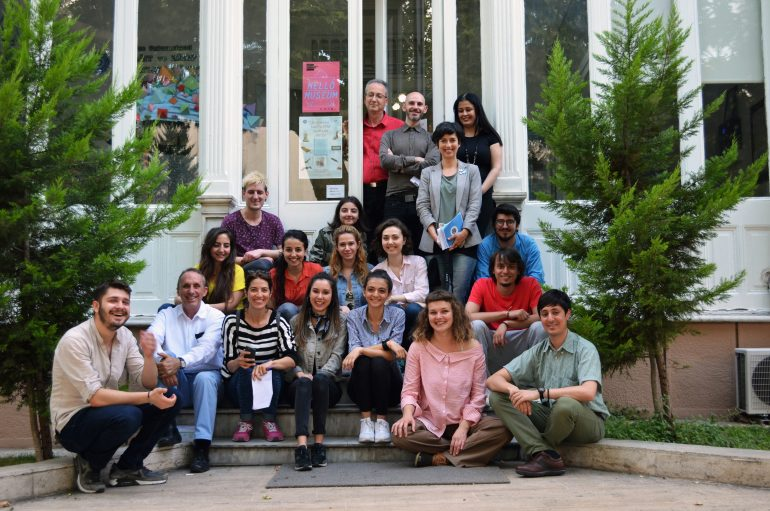 (Turkish) Öğrenci projeleri Kağıt ve Kitap Sanatları Müzesi'nde