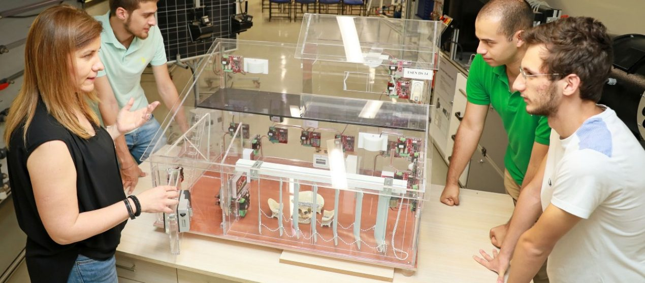 The project that uses ice for heating and cooling awarded