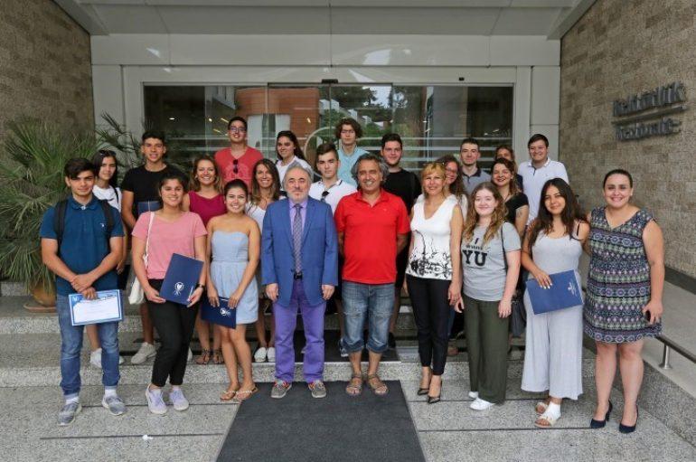 (Turkish) Yaşar Üniversitesinin konuğu oldular