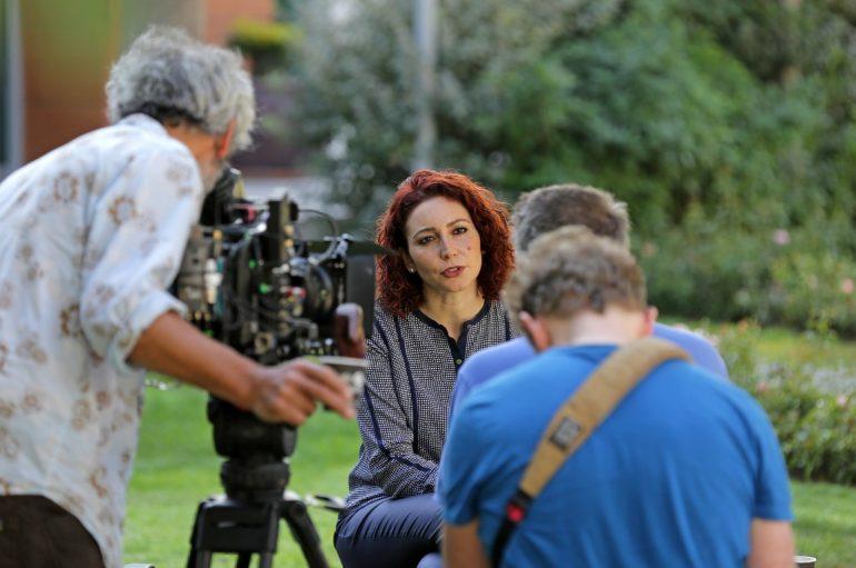Süper star şef Yaşar Üniversitesi'nde belgesel çekti