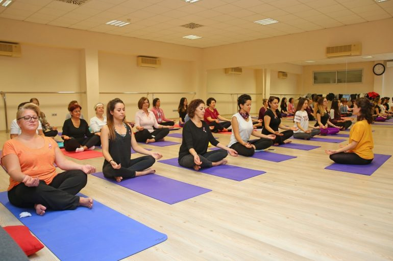 'Yoga' for the benefit of women with breast cancer