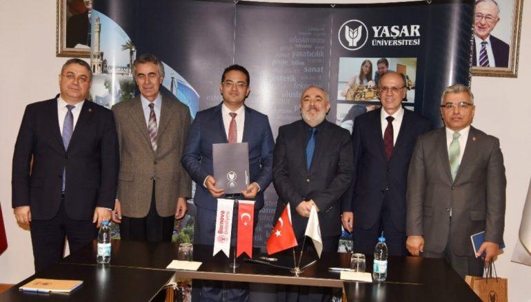 (Turkish) Yaşar Üniversitesi'nden Bornova zabıtasına kişisel gelişim semineri
