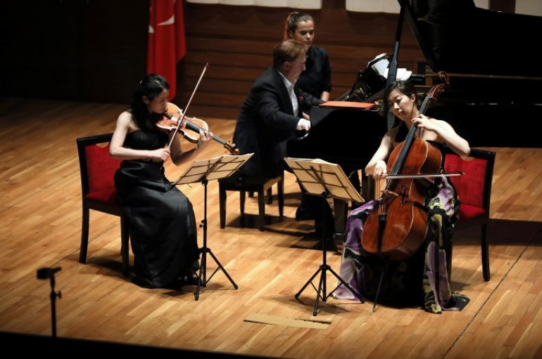 (Turkish) Sanat i'Çin' dostluk köprüsü