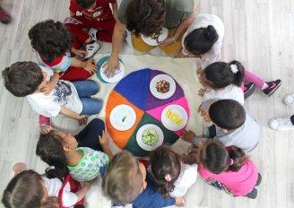 Sağlıklı Beslenmeyi Oynayarak Öğrenecekler