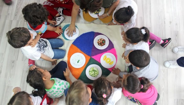 (Turkish) Sağlıklı Beslenmeyi Oynayarak Öğrenecekler