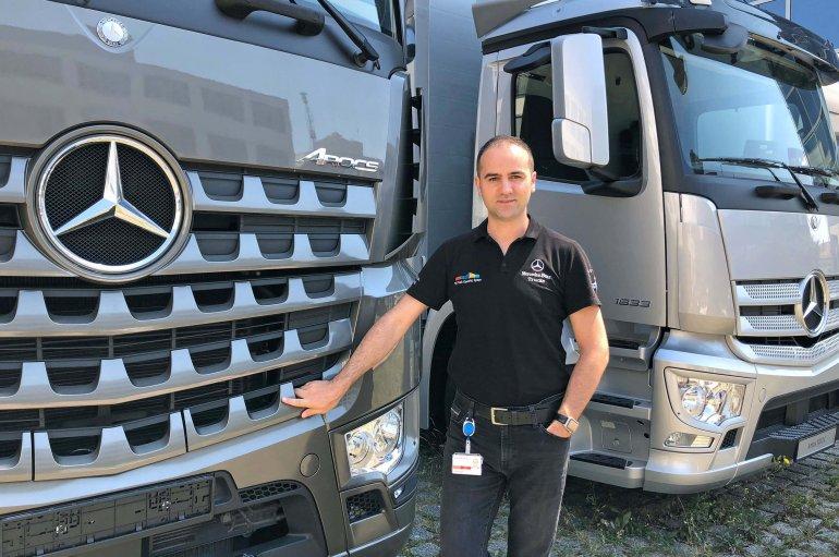 Otomotiv devinde bir Türk mühendis