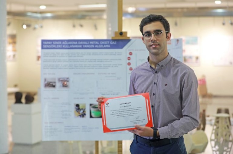 Young scholar ranked first in Turkey